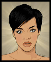 Rihanna by nadda1984