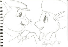Rescuers Unconditional Love by nadda1984