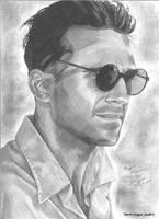 Ralph Fiennes portrait by RogueDerek
