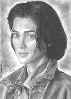 Winona Ryder portrait by RogueDerek