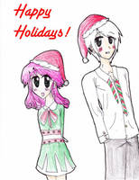 Happy Holidays 2009 by iWish909