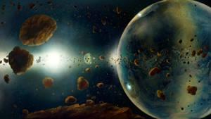 The Bubble Planet by Vladinakova