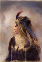 The Queen by Vladinakova