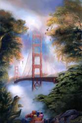 Christmas San Francisco by Vladinakova