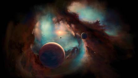 Nebula by Vladinakova