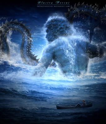 Poseidon by LuIlustraVersus