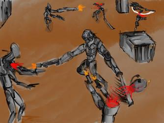 Base assault  by metaldemonx111
