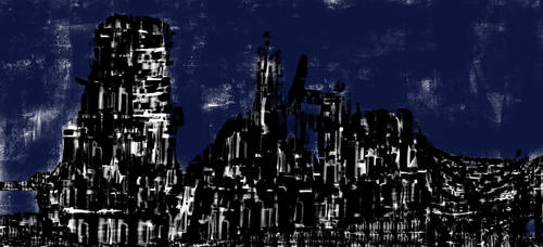 Stealther cyber city by metaldemonx111