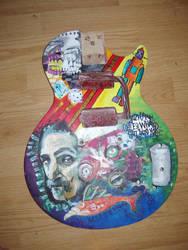 Zappa Guitar '4' by coolerthanpie