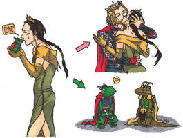 the frog prince of Asgard by po19