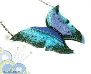 Blue Butterfly by FoamBubbles