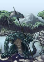 CyA026 - Crocodile Hunter by TheCGCy