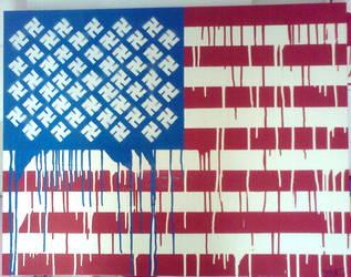 swastikas and stripes by kone1972