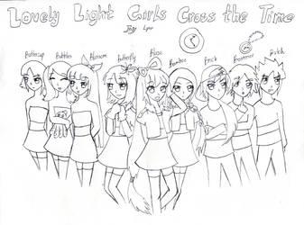 The Lovely light girls cross thr time cover by NanakoBlaze