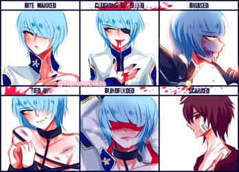 Character Abuse Meme by NanakoBlaze