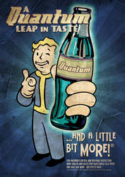 Nuka Cola Quantum Poster by MarkuzR