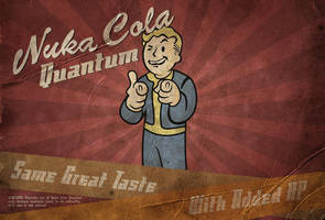 Nuka Cola Landscape Poster by MarkuzR