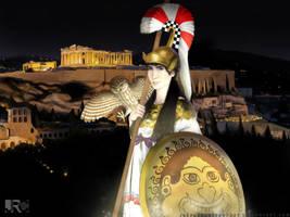 Athena by JRCthedarkprophet