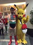 Astro Boy and Pikachu by Dragonrider1227