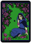 RETRO:  RADHARANI TALKING to a BUMLEBEE by Mohinipriya