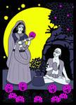 Haridas Thakura and Maya Devi by Mohinipriya