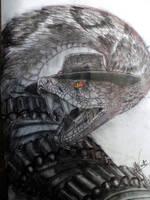 Rango: Rattlesnake Jake by halcon24