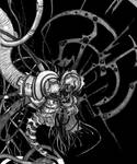 Dream Bestiary #11: The Machine by EvilSaintGood