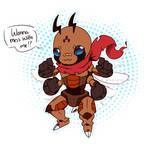 Bug digimon design adopt - Foumon [OPEN] by Daniela-Arts