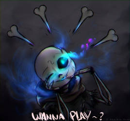 [Contest Entry] Ghost Sans - Wanna Play? by Daniela-Arts