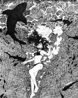 Inktober 2017 #Day 3 - Underwater by o-Oxalis-o