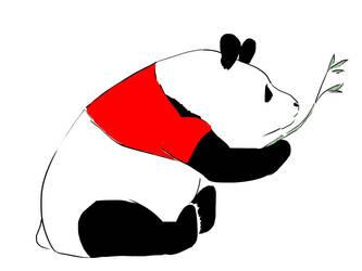 Pooh Panda by JoshikoseiSnak