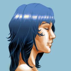 Self portrait attempt by JoshikoseiSnak