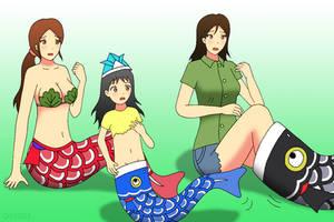 Koinobori Mermaid by gomyugomyu