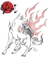 Amaterasu Okami by redfield37