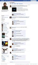 Chris Redfield Facebook by redfield37