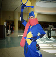 Greninja Gijinka Cosplay (Pokemon) by PtrCosplay