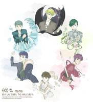 EXO-M-MAMA by miyala0401