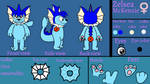 Zelsea Ref Sheet (me) by vaporeon1511