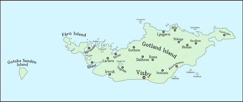 The County/Province/Municipality of Gotland by Luis2100PT