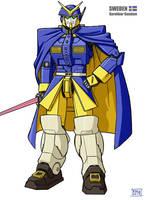 Karoliner Gundam by Ragathol