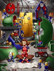 The Bonne Robot Factory by Ragathol