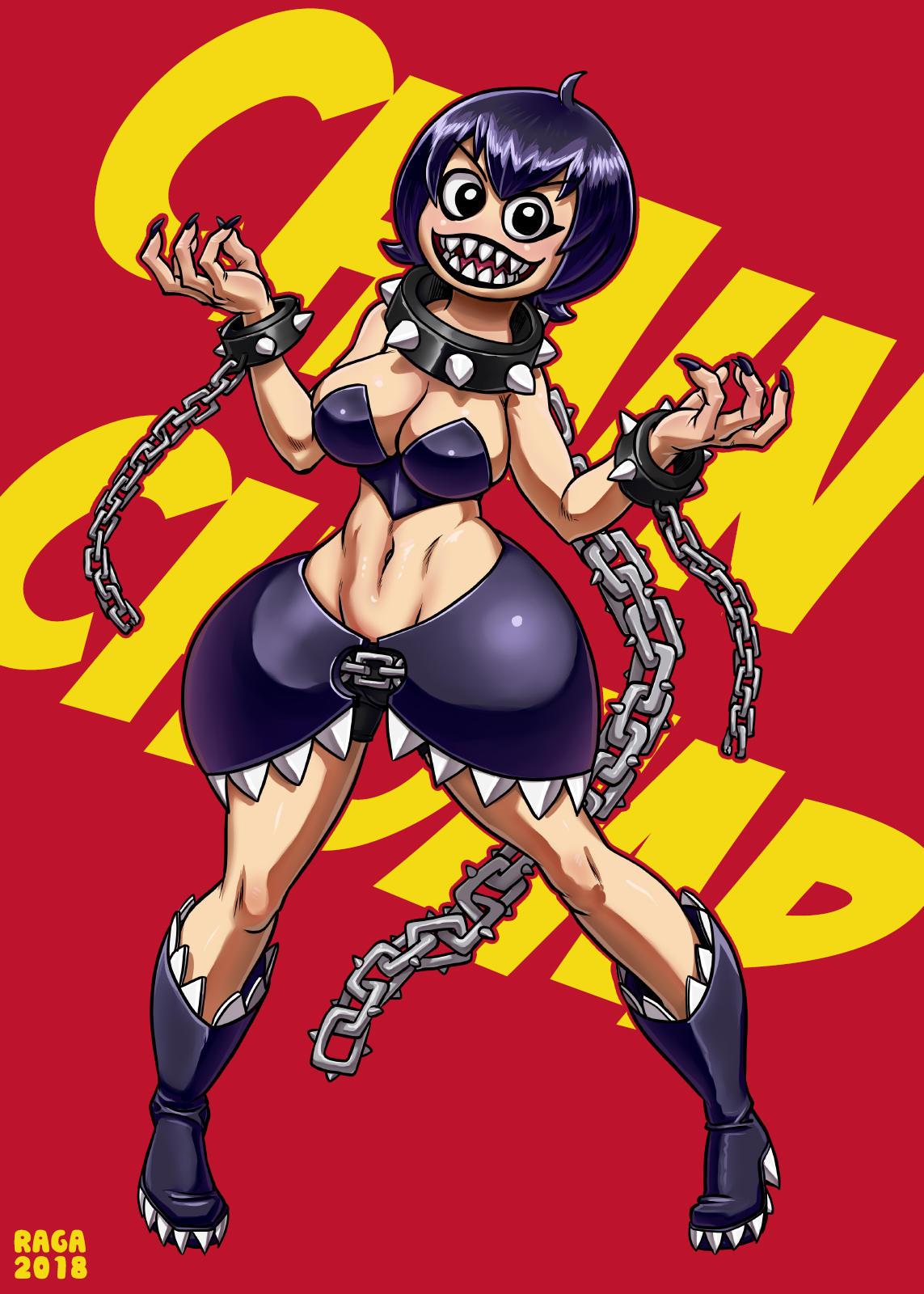 Chainchomp-chan by Ragathol