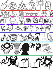 Symbols - WIP by athorment