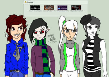 RP Group OCs by athorment