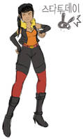 Moyang Bae Emboar Concept Art by athorment