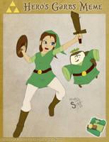 LoH- Hero Garbs Meme - Iziar by athorment