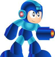 Mega Man Vectors by athorment