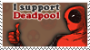 STAMP - I support Deadpool by Emme-Gray