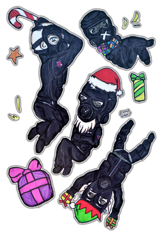 Siege Christmas - SAS by Emme-Gray