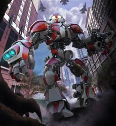 Robot by LoserMcCrappyart